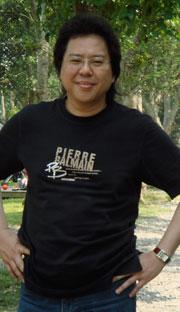 馬來西亞文創協會理事長劉康捷是促成《神遊》電影短片順利籌備的靈魂人物。